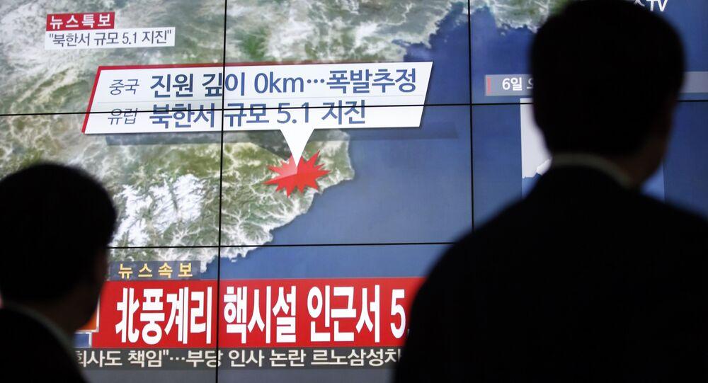Test nucleare della Corea del Nord