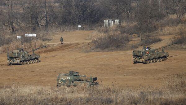 Artiglieria dell'esercito della Corea del Sud - Sputnik Italia