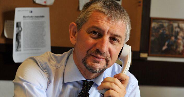 Fulvio Scaglione, giornalista di Famiglia Cristiana, esperto di politica internazionale