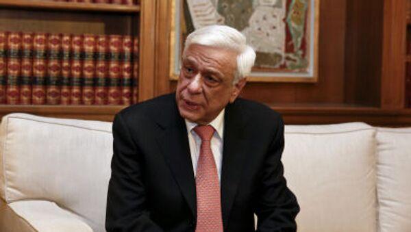 Il presidente della Grecia Prokopis Pavlopoulos - Sputnik Italia