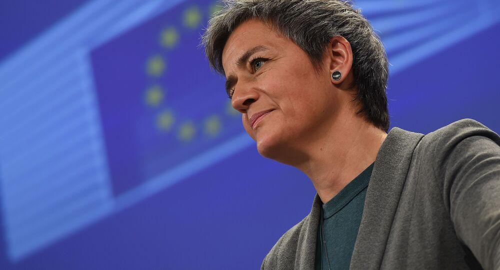 Commissario europeo per la Concorrenza Margrethe Vestager
