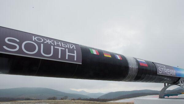 2012, quando il gasdotto South Stream sembrava dovesse diventare realtà - Sputnik Italia