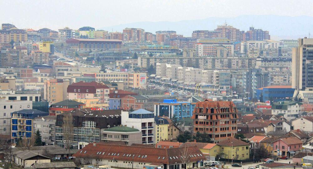 La capitale kosovara Pristina