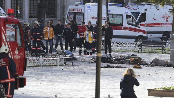 Esplosione nella piazza centrale di Istanbul - Sputnik Italia
