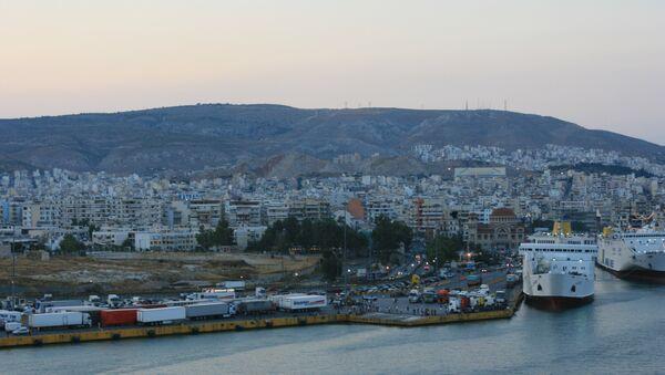 il porto di Pireo - Sputnik Italia