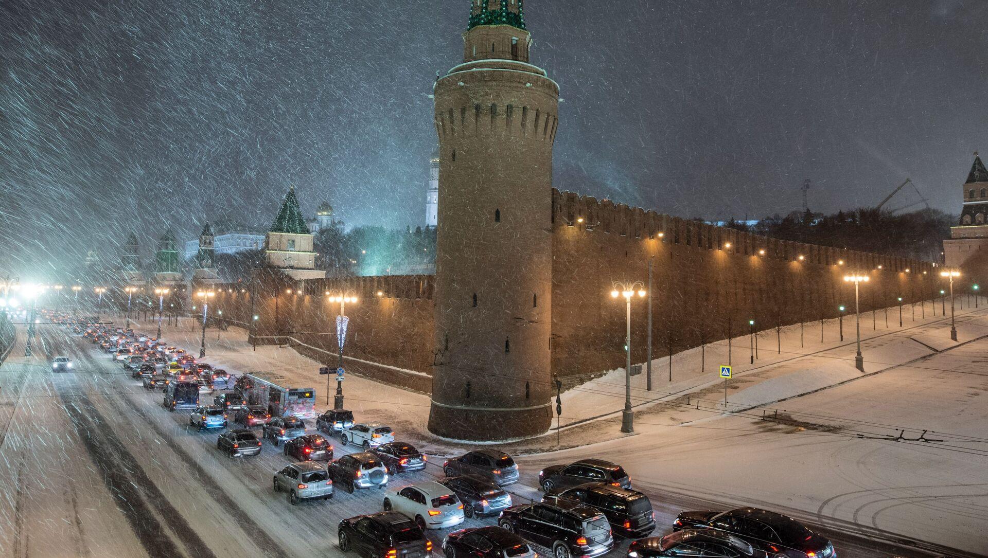 Mosca sotto la neve - Sputnik Italia, 1920, 10.02.2021