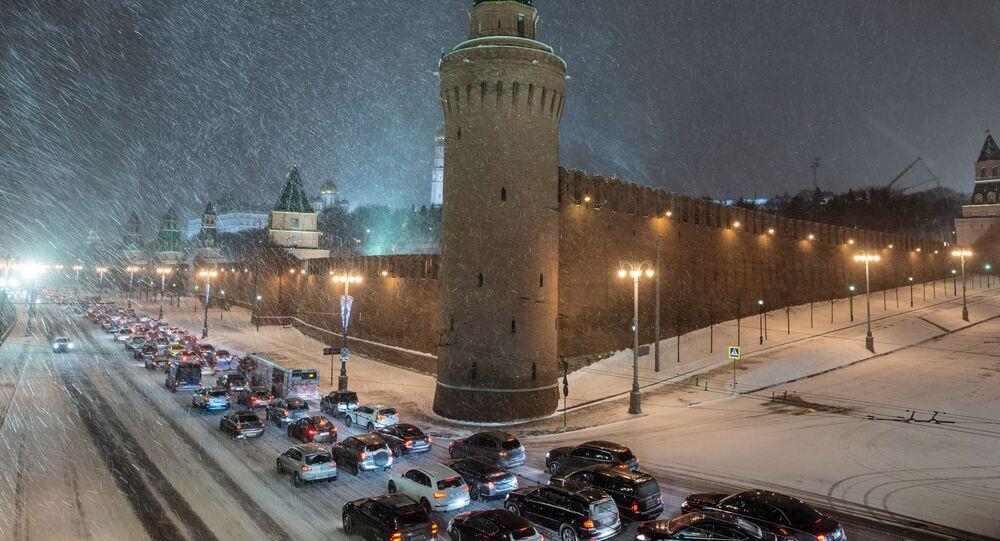 Mosca sotto la neve