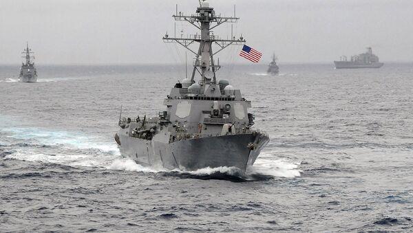 US Navy guided-missile destroyer USS Lassen - Sputnik Italia