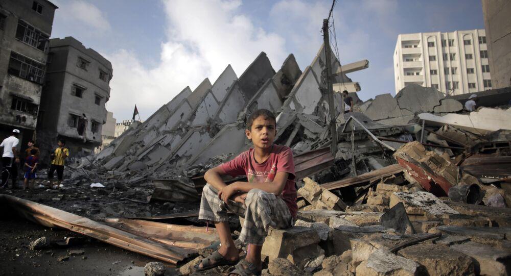 Le distruzioni nella Striscia di Gaza