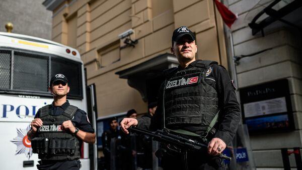 Turkish riot police - Sputnik Italia