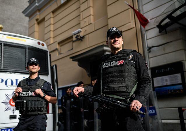 Polizia turca (foto d'archivio)
