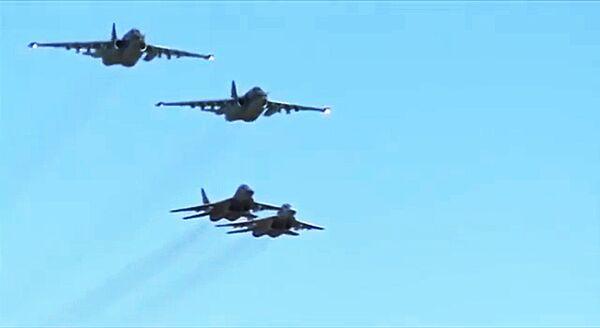 Russia-Siria: insieme contro il Daesh nei cieli siriani. - Sputnik Italia