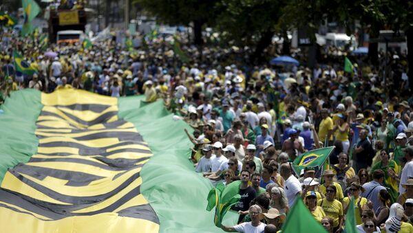 Manifestazioni in Brasile - Sputnik Italia