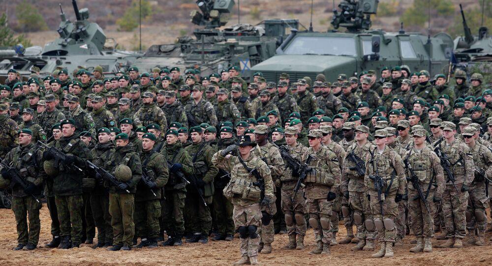 Esercitazioni NATO in Lituania nel novembre 2014