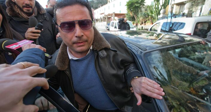 Francesco Schettino, capitan de Costa Concordia