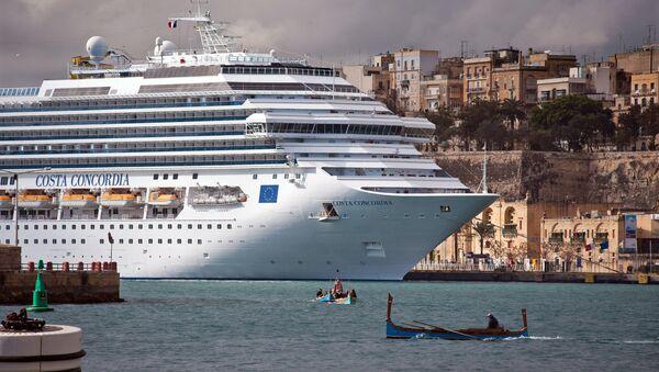 La nave da crociera - Sputnik Italia