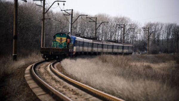 Il primo treno per Lugansk. - Sputnik Italia