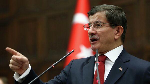 Turkey's Prime Minister Ahmet Davutoglu - Sputnik Italia
