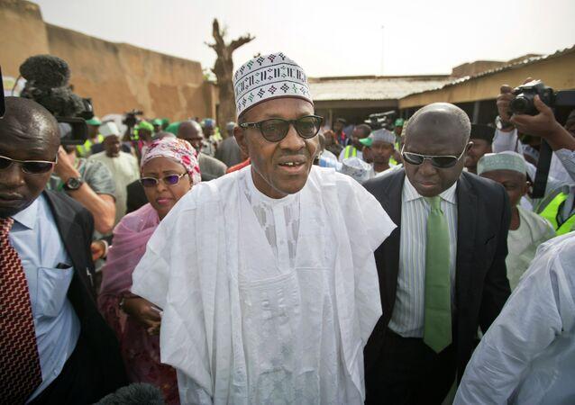 Il presidente eletto di Nigeria Muhammadu Buhari