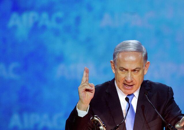 Il Primo ministro d`Israele Benjamin Netanyahu