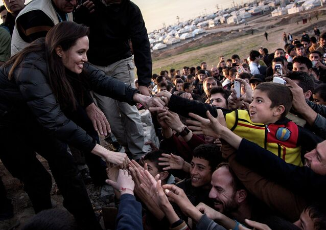Angelina Jolie in Iraq