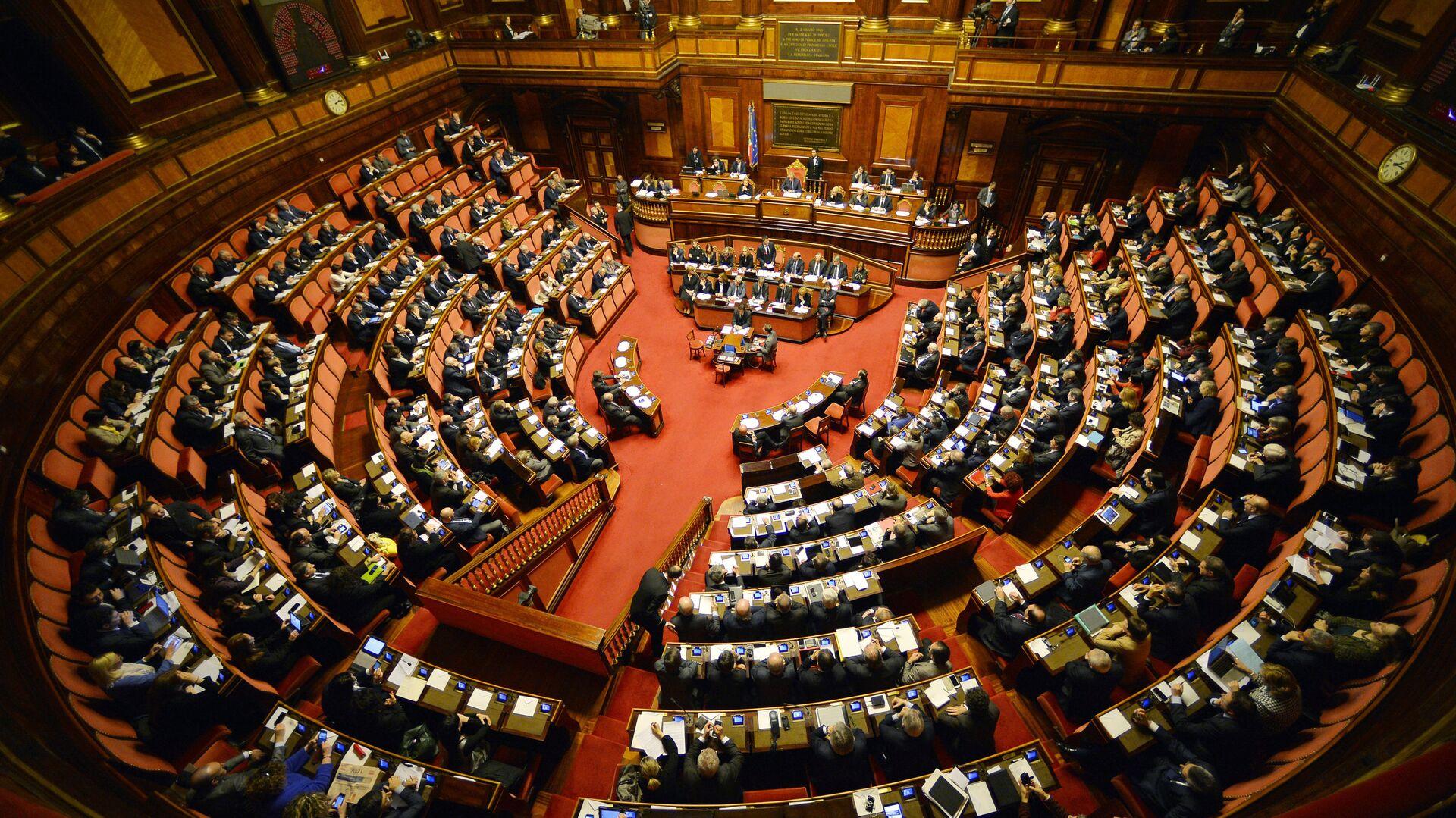 Il parlamento italiano - Sputnik Italia, 1920, 20.03.2021