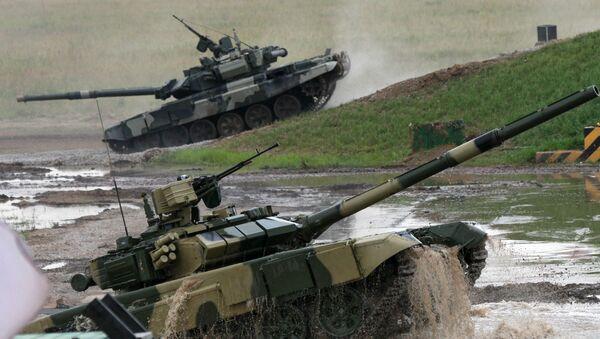 Carri armati T-90 - Sputnik Italia