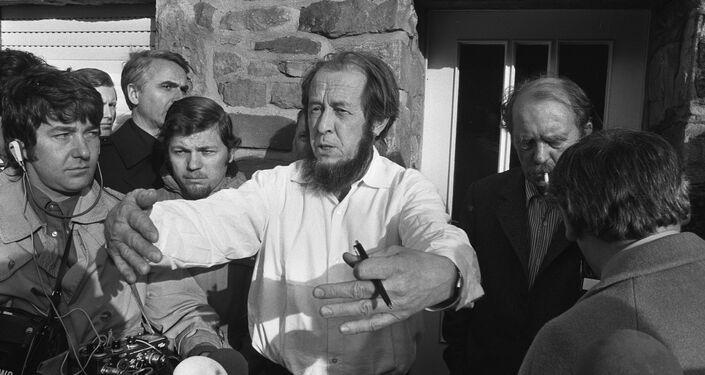Aleksandr Solzhenitsyn a Colonia in 1974