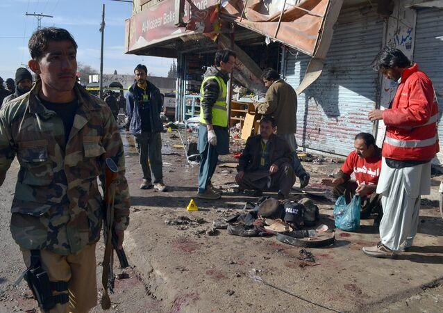 Esplosione in Pakistan