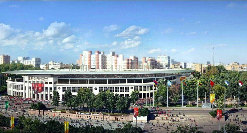 Il progetto del nuovo stadio della Dynamo Mosca, VTB arena.