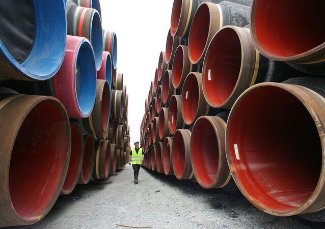 Costruzione di gasdotto