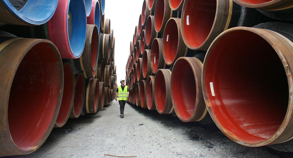 Costruzione di Nord Stream