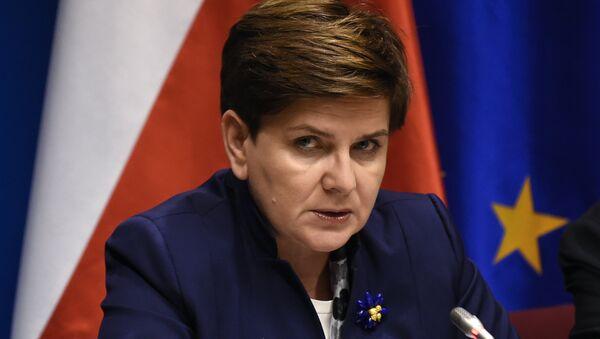 Premier Polski Beata Szydło - Sputnik Italia