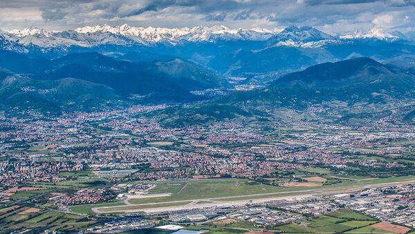 L'aeroporto di Bergamo visto dall'alto - Sputnik Italia