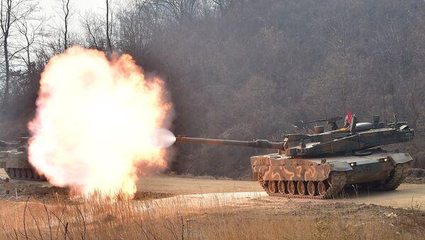 Tank sudcoreano K-2 - Sputnik Italia