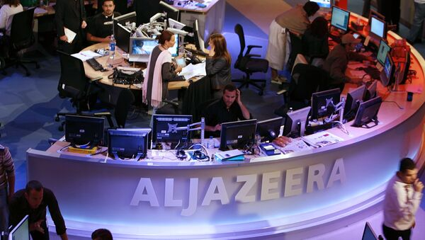 Quartiere generale dell'emittente Al Jazeera a Doha, la capitale di Qatar. - Sputnik Italia