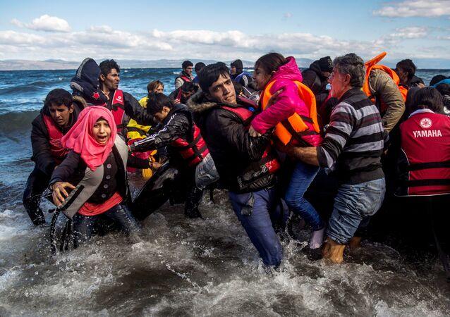 Profughi siriani provenienti dalla Turchia