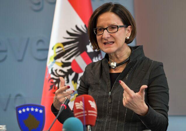 Ministro degli Interni dell'Austria Johanna Mikl-Leitner (foto d'archivio)