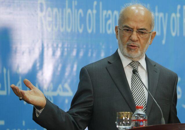 Ministro degli Esteri dell'Iraq Ibrahim al-Jaafari