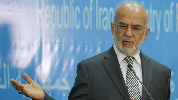 Ministro degli Esteri dell'Iraq Ibrahim al-Jaafari - Sputnik Italia