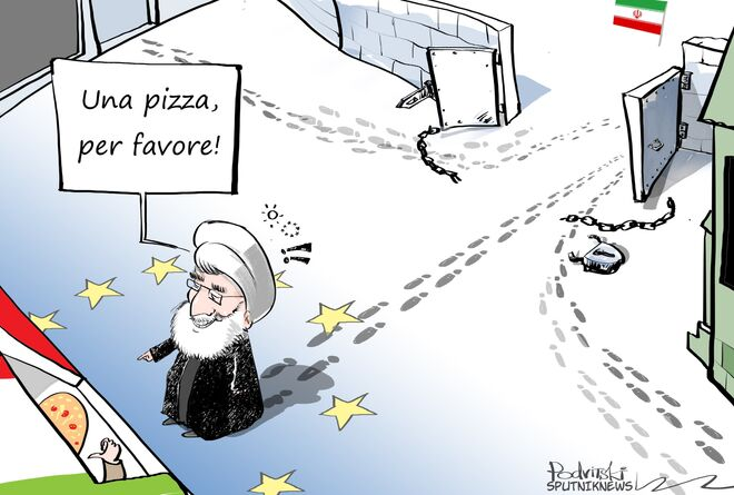 Rohani in Italia