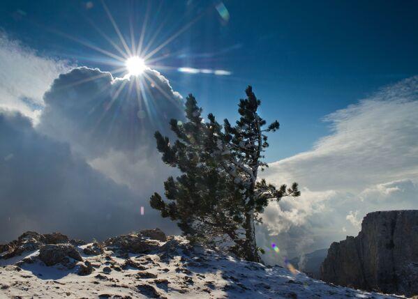 L'Inverno in Crimea - Sputnik Italia