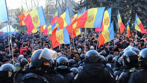 Le proteste in Moldavia - Sputnik Italia