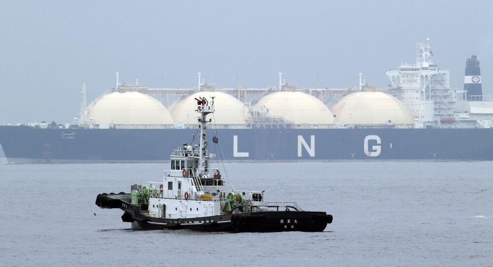 Nave cargo per il gas naturale liquefatto (foto d'archivio)