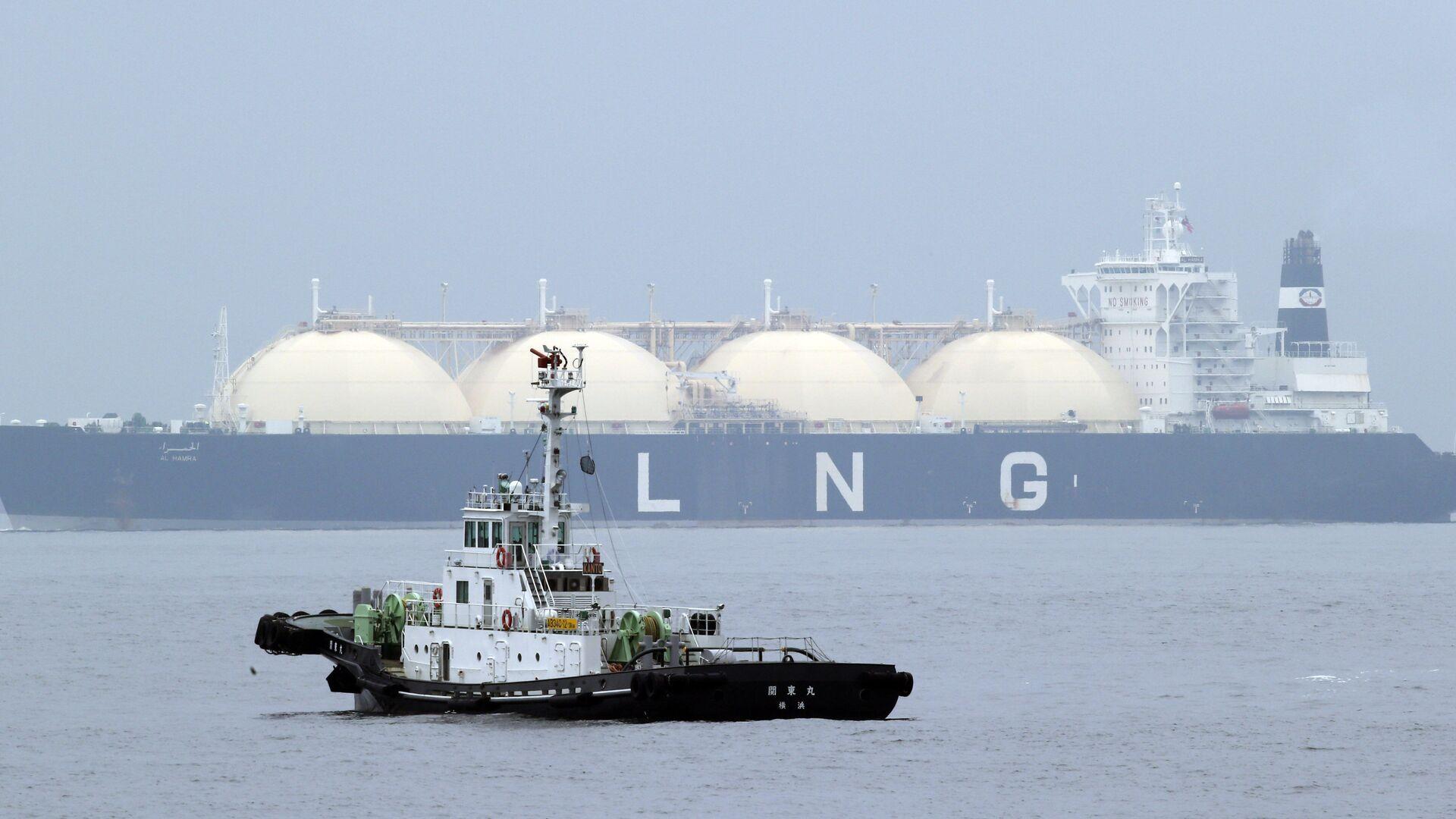 Nave cargo per il gas naturale liquefatto - Sputnik Italia, 1920, 19.08.2021