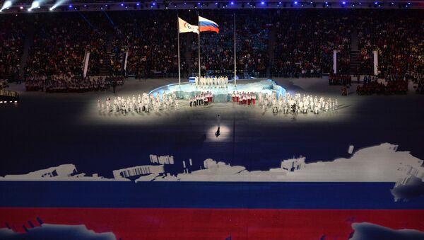 Un momento della Cerimonia di Chiusura delle Paralimpiadi di Sochi 2014 - Sputnik Italia