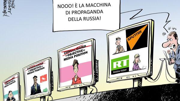 La macchina di propaganda della Russia - Sputnik Italia