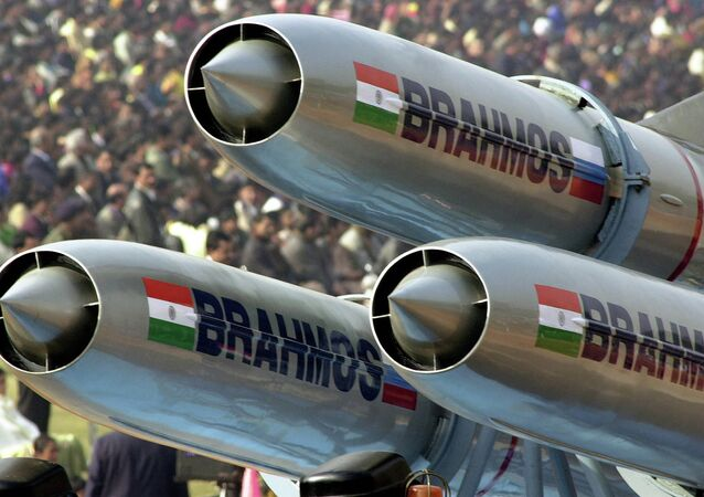 Missile supersonico da crociera Brahmos