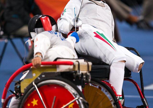 Paralimpiadi di Londra 2012, un duello di scherma
