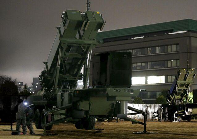 Sistema di difesa antiaerea Patriot a Tokyo
